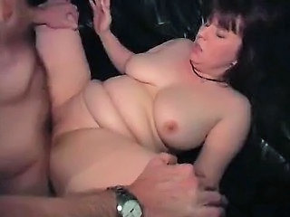 Brunette Chubby German MILF