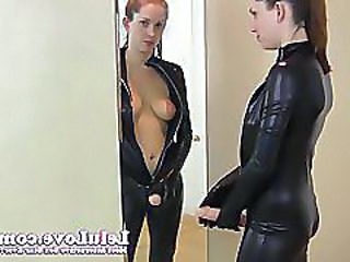 Latex Strapon Teen