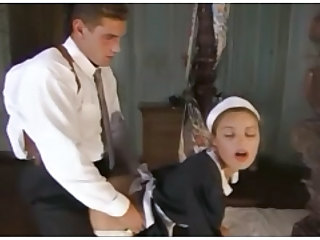 Babe Clothed Cumshot Cute Doggystyle Maid Uniform