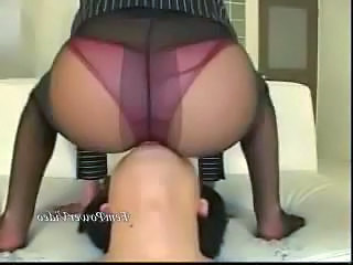 Asian Ass Facesitting Japanese Pantyhose