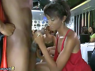 CFNM Ebony Handjob Party Teen Young