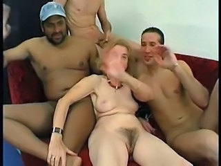 Gaping Granny Orgy