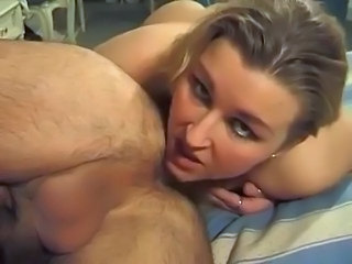 Blonde Licking Mature