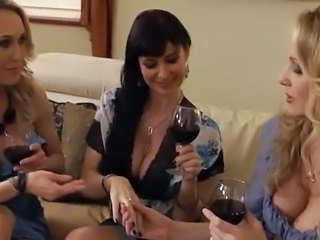 Drunk MILF Threesome