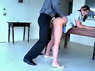 Clothed Doggystyle Teen