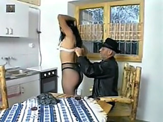 Kitchen Old and Young Pantyhose
