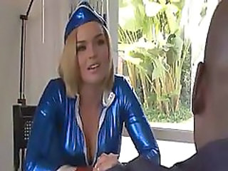 Amazing Interracial MILF Pornstar Uniform
