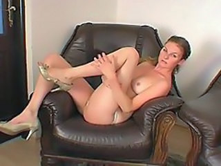 European Solo Stripper Teen