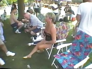 Nudist Outdoor Party