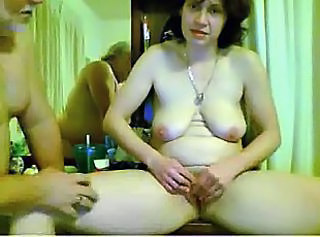 Masturbating Mature Older SaggyTits Webcam Wife