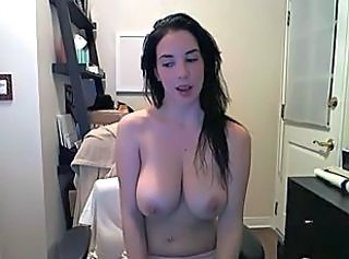 Amazing Big Tits Natural Teen Webcam