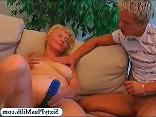 Dildo Old and Young Teen