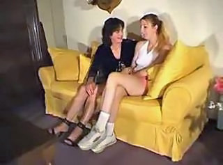 Daughter French Lesbian Mature Mom Old and Young Teen