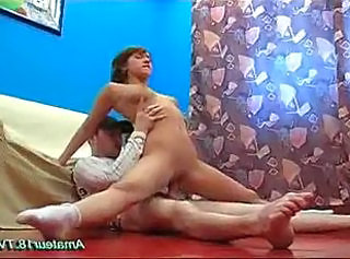 Flexible Hardcore Riding Teen