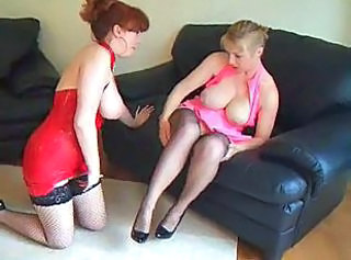 Amateur Big Tits British Lesbian Mature Natural Stockings