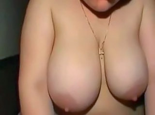 Amateur Big Tits Chubby Girlfriend Natural Nipples Redhead SaggyTits