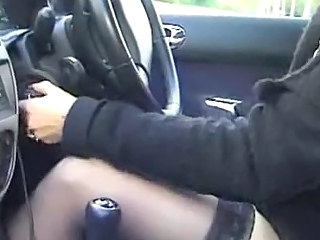 Car French Stockings Wife