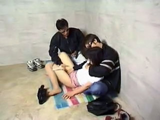 Asian Clothed Forced Japanese Threesome