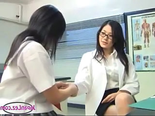 Asian Doctor Glasses Lesbian MILF Teen Uniform