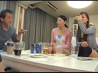 Asian Daddy Family Japanese MILF