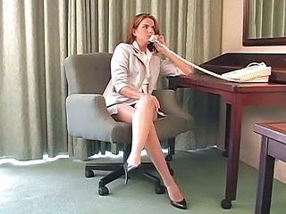 Legs MILF Office