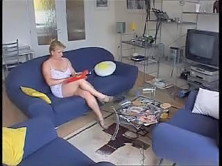 Chubby European German Mature Wife