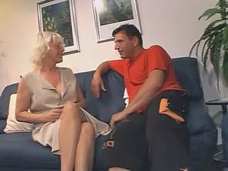 Blonde European German Mature