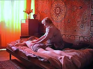 Granny Homemade Massage Russian