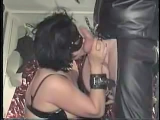 Bdsm Blowjob Chubby Latex Mature