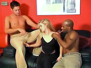 Interracial Teen Threesome