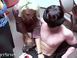 CFNM Handjob MILF Office