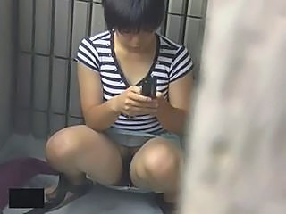 Asian Prison Upskirt