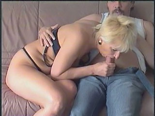 Blowjob German Lingerie Mature
