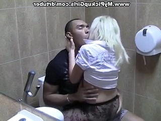 Amateur Interracial Russian Toilet
