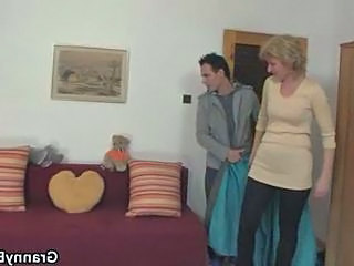 Blonde Homemade Mature Old and Young Young