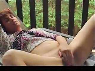 Masturbating MILF Mom Solo