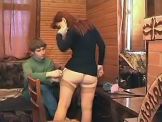 Amateur Ass Homemade MILF Mom Old and Young Redhead Russian Stockings