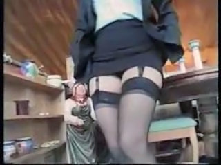British MILF Stockings
