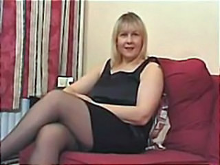 Amateur British European Mature Stockings