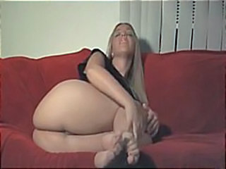 Amateur Ass Blonde Solo Teen