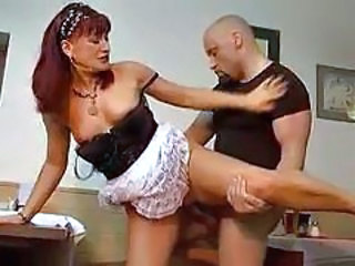 Clothed Maid Mature