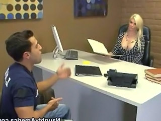 MILF Office Pornstar