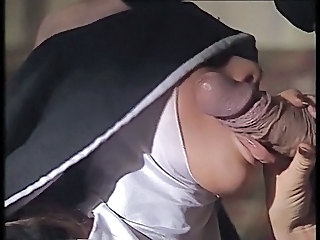 Big cock Blowjob Nun Uniform Vintage