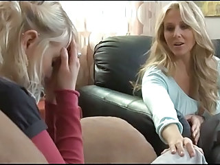 Blonde Daughter Lesbian Mature MILF Mom