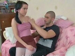 Cute Pantyhose Russian Sister Teen