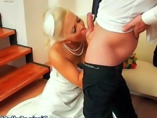 Blowjob Bride MILF Wife