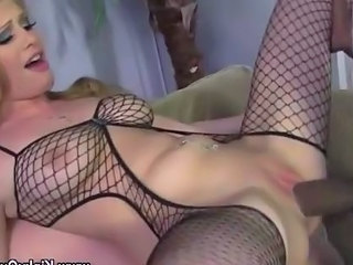 Femdom Fishnet Hardcore Interracial MILF Shaved