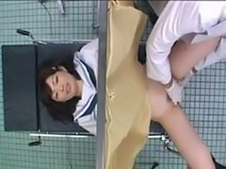 Asian Doctor  School Teen Uniform Voyeur