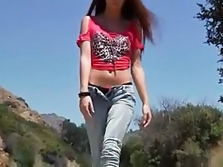 Jeans Outdoor Stripper Teen