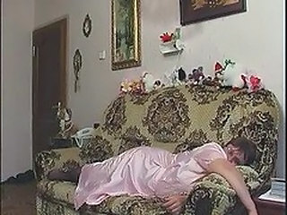 Amateur Homemade Mature Mom Old and Young Sleeping